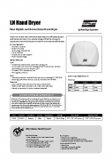 Electric-Aire LN Spec Sheet