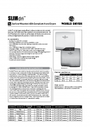 SLIMdri Spec Sheet