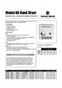 Model RA Spec Sheet