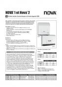 Nova 1 Spec Sheet FR