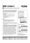 Nova 2 Spec Sheet FR