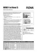 Nova 4 Spec Sheet FR